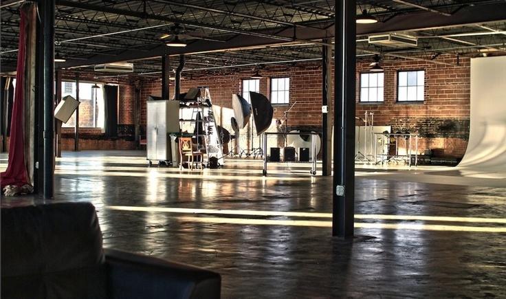 warehouse loft style space | studio design inspiration | pinterest