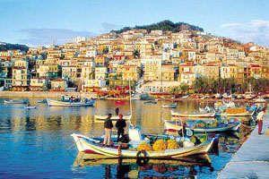 Plomari, Lesbos island, Greece