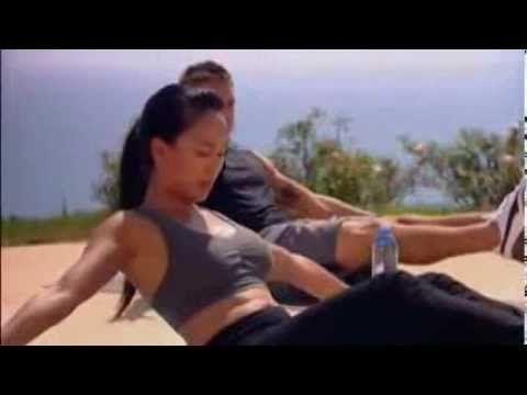 10 minut na płaski brzuch- Mel B