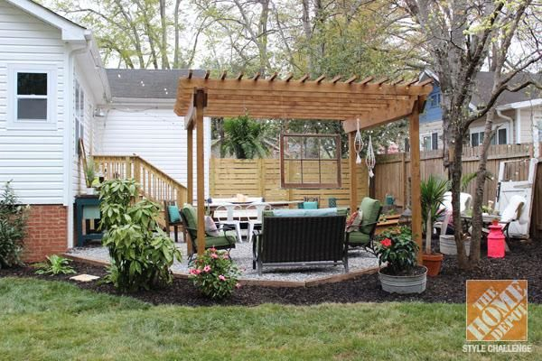 Bohemian Style Backyards : 1000+ images about pergola on Pinterest  Painted rug, Columns and