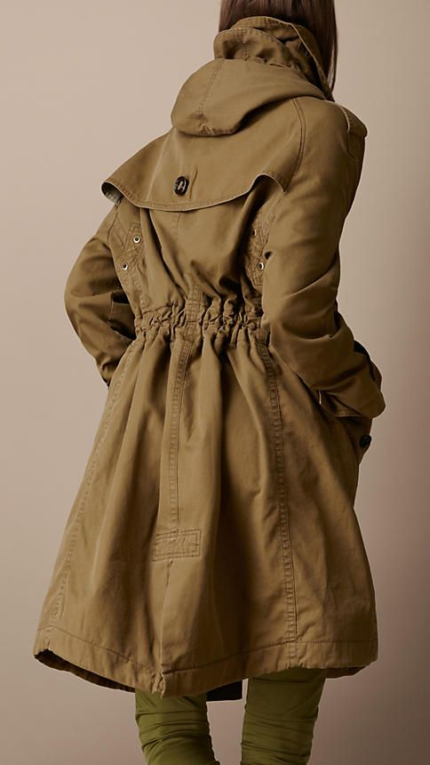 This burberry spring coat could be an adult version of my Diesel coat that I've had for 10 years