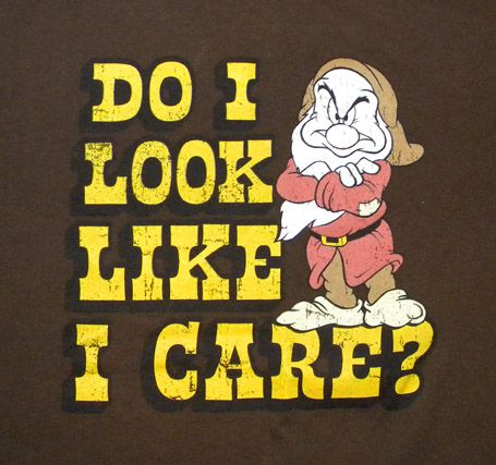 Funny Grumpy Dwarf T Shirt Cartoon Snow White Walt Dwarves Disney ...