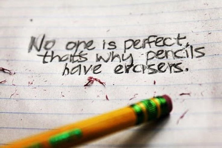 Embrace your flaws -- they make you YOU.: Inspirational Quote, Pencil, Depression Quotes, Life, Erase, Motivation Quotes, Perfect, Inspiration Quotes, True Stories