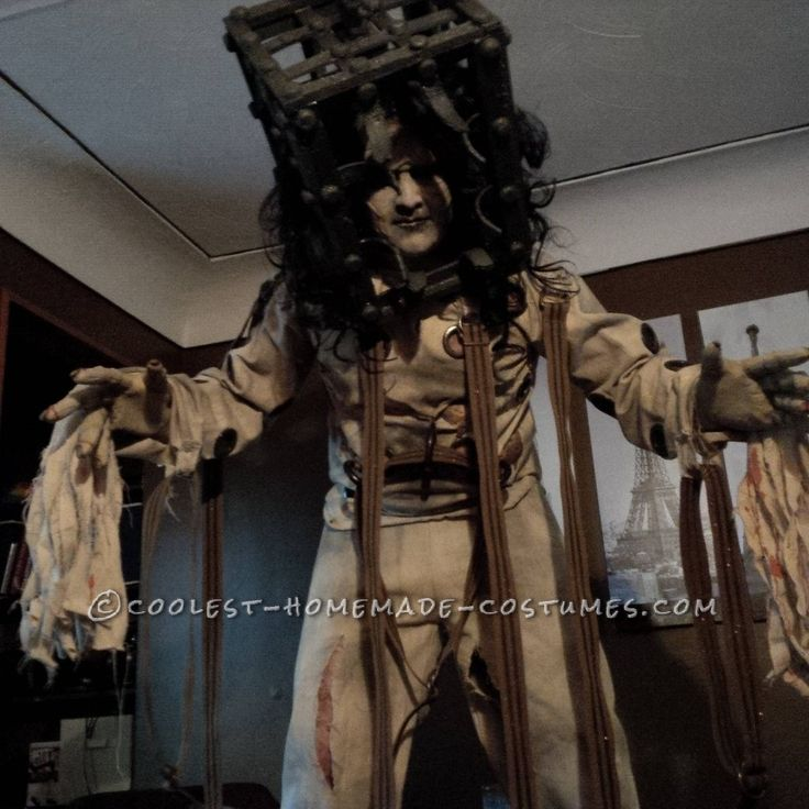 The Jackal Costume from 13 Ghosts... This website is the Pinterest of costumes