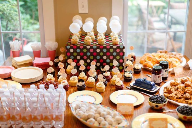 Bubbles & Brunch Birthday Party Ideas | Photo 2 of 26 | Catch My Party