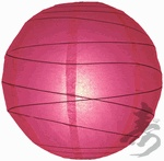 Fuchsia Irregular Paper Lantern -  from the Paper Lantern Store
