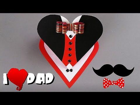 FATHER'S DAY CARD - EASY TUTORIAL / DIY CARDS - YouTube