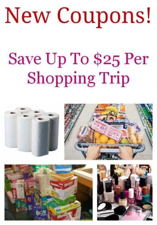 New Printable Coupons For Grocery, Diapers  Formula, Health  Beauty