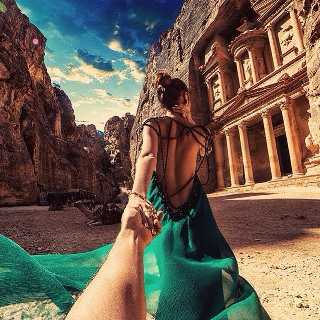 124. Follow Me to the amazing Petra in Jordan. 08/18/2014