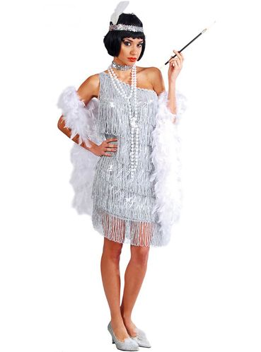 Buy the largest range of Charleston Costume, Silver. Best prices, satisfied or your money back.