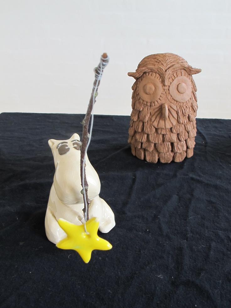 Mummi with owl