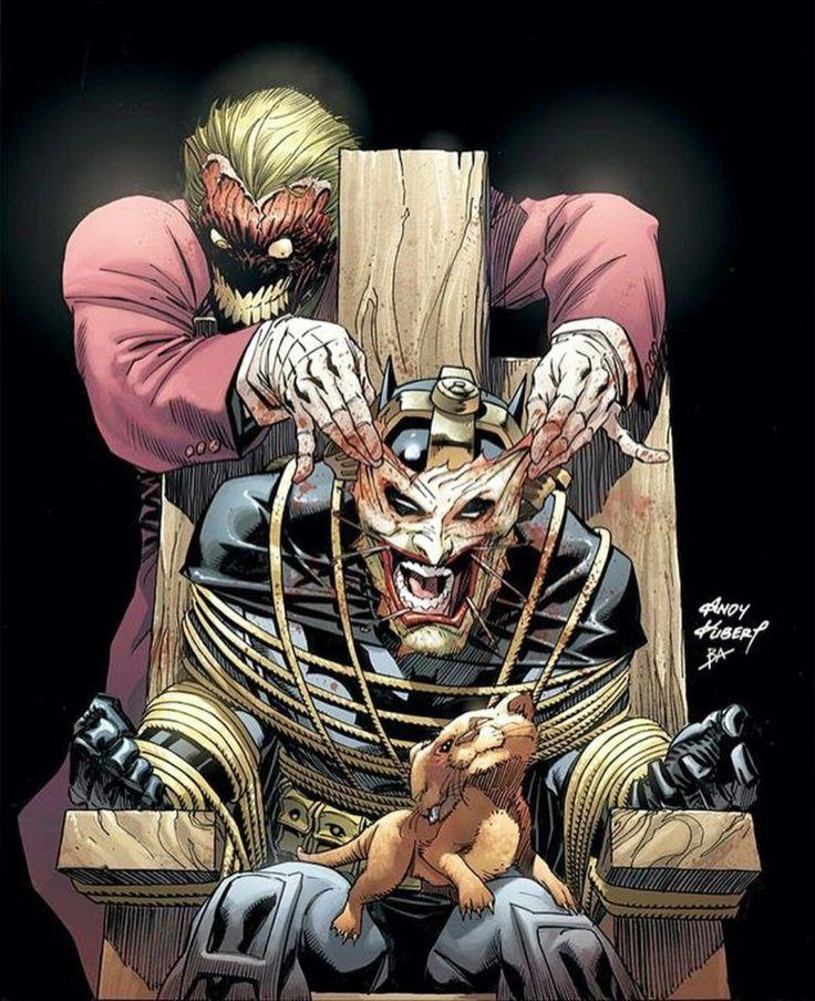 The Joker & Batman By Andy Kubert