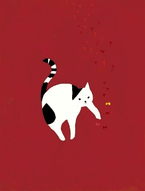 mozneko is an illustrator from Japan.