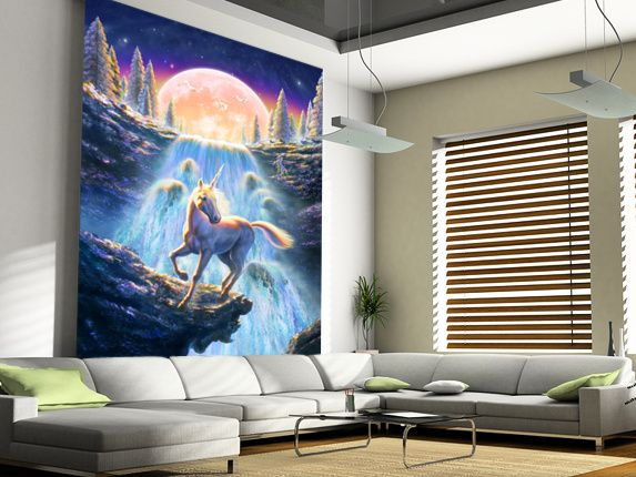 15 best Unicorn Wall Murals images on Pinterest