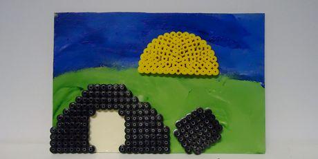 Påskebilleder med perler. Se vejledning og andre påskedage på linket.