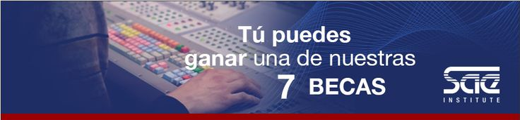 "Becas ""Tu futuro digital"" 2015 en SAE Institute"