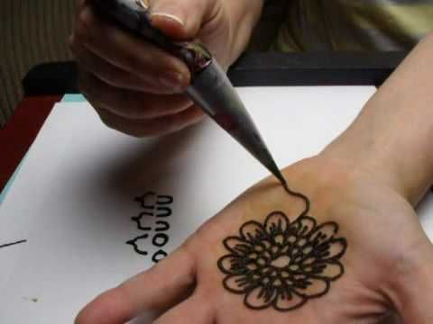 How to Do Henna Tattoos : How to Make & Fill a Henna Applicator Cone - YouTube