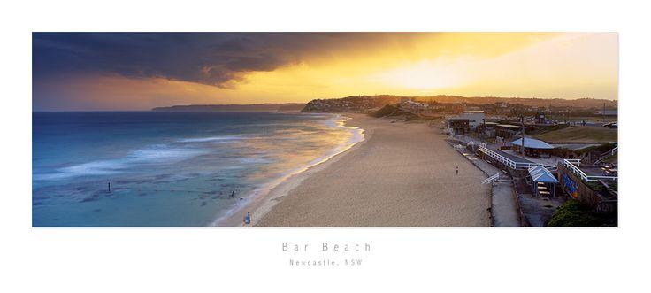 Bar Beach, Newcastle by MattLauder.deviantart.com on @DeviantArt