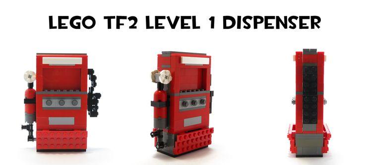 Lego TF2 Level 1 Dispenser by HybridAir on DeviantArt #tf2 #gaming #teamfortress