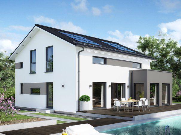 """Schlüsselfertiges Massivhaus Spektralhaus: """"Sunshine 165 Variante Ulm"""" Von Living Haus"""