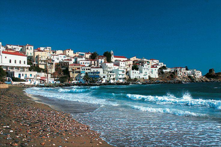Papaporti beach - Chora - Andros island