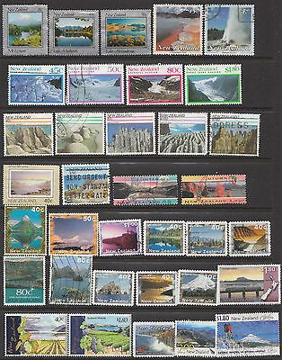 NEW ZEALAND Used selection of commemoratives