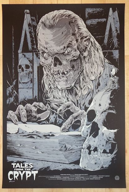 "2013 ""Tales From the Crypt"" - Movie Poster by Ken Taylor"