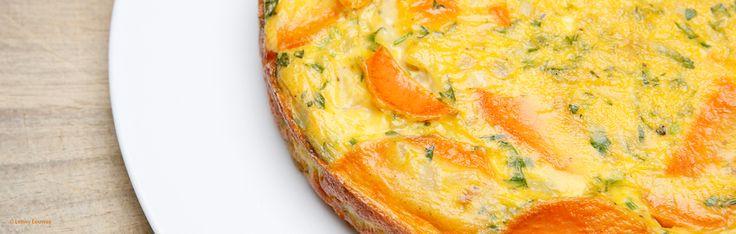 Omelet Van Zoete Aardappel