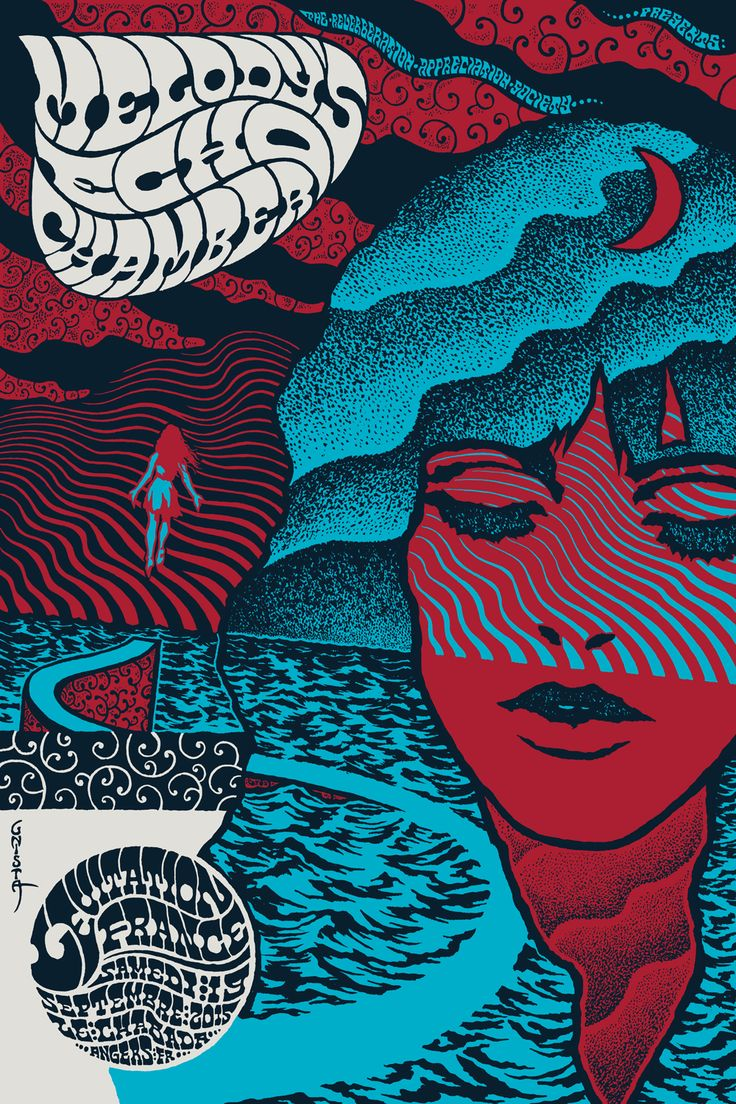 LEVITATION | MELODY'S ECHO CHAMBER POSTER BY ROBIN GNISTA