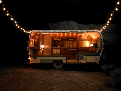 Royalty-free Image: trailer with lights