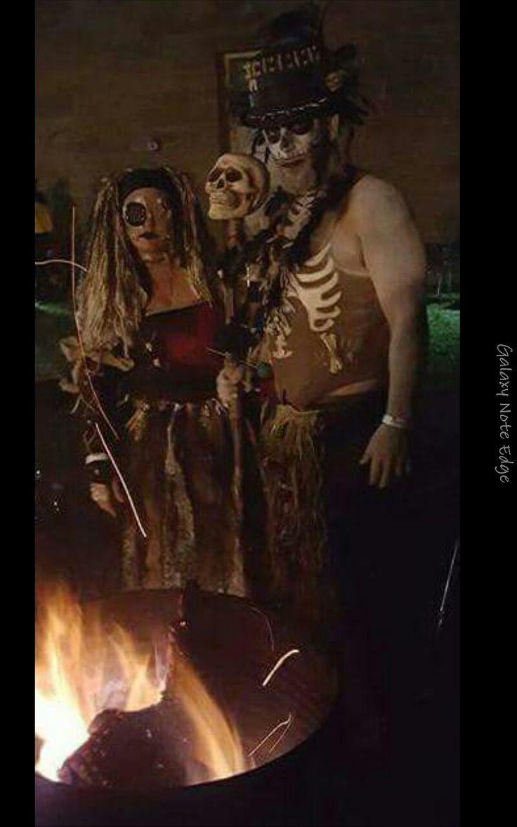 voodoo priest and voodoo doll revised makeup