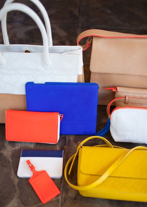 Claire Vivier & Other Stories This Co-Lab collection of colour-popping clutches, wallets, weekend bags and rucksacks is both stylish and classic.  Leather tote bag, Leather shoulder bag, Leather Ipad case, Leather Wallet, Mini clutch and Luggage tag