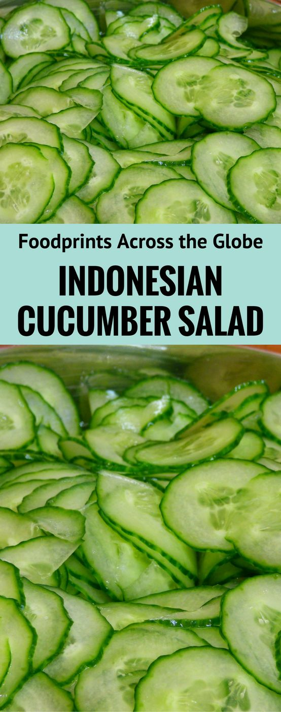 Easy yet completely different cucumber salad! You can make this up to 5 days in advance!