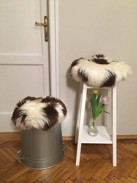 Beautiful stool cover or a type of cushion which is luxurious and ultra comfortable for butts and cosy for your interior. Its organic look suits old stools that have become a little quaint as well as modern stools.  comfortable - so soft you will no be able to resist sitting on it;