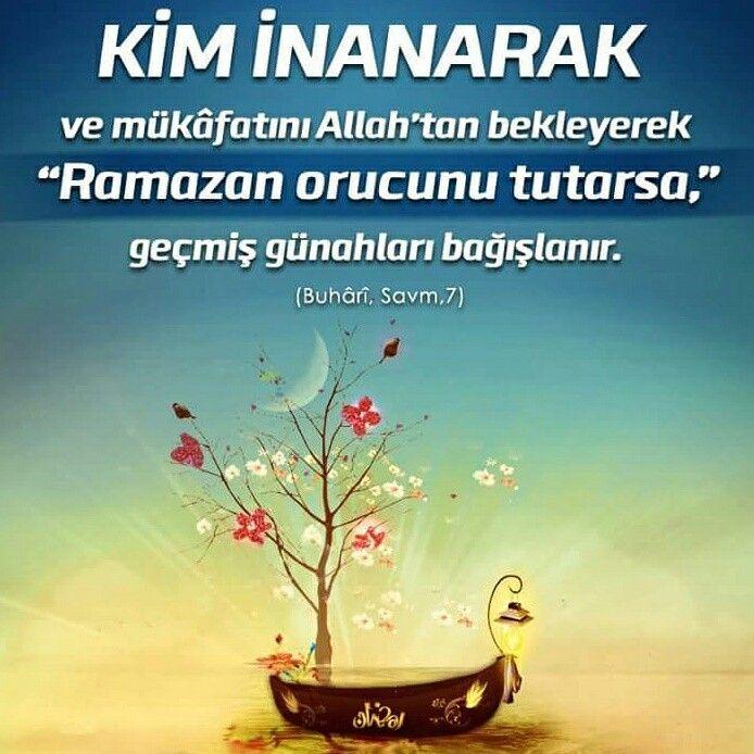 ⛵ Kim inanarak ve mükafatını Allah'tan bekleyerek Ramazan orucunu tutarsa, geçmiş günahları bağışlanır.   [Buhari, Savm, 7]  #mükafat #büyük #ramazan #oruç #geçmiş #günah #bağışlanır #hadisişerif #islam #müslüman #ilmisuffa