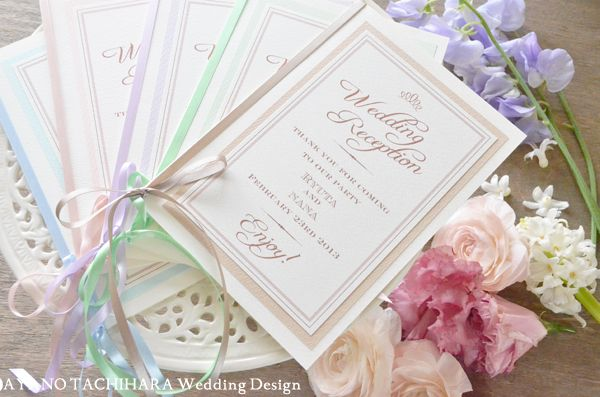 spring color mix  by AYANO TACHIHARA Wedding Design