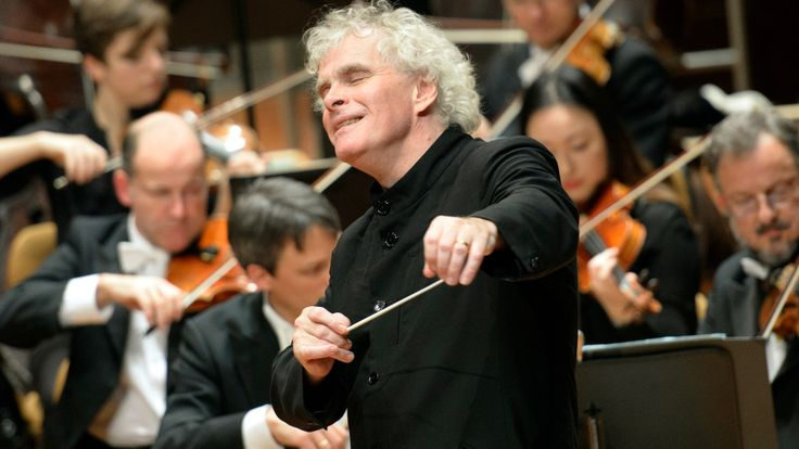 Berliner Philharmoniker: First concert in the Brahms/Schumann cycle with Simon Rattle: free concerts available after registering.
