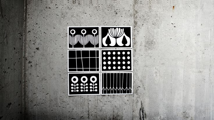 send me a #frjor #postcard .♡. A 6 (10,5 cm x 14,8 cm) . flocked carton . 8g . black & white .  6 different #patterns ♡