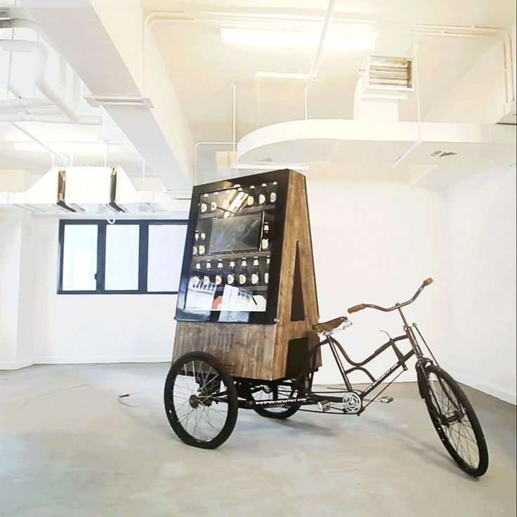 pop up shop, beer, chocolate, tricycle, retail. popup, hong kong, vintage, mrtheartist, mobile shop, old