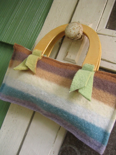 nice recycled sweater purse