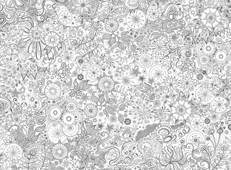 167 Best Images About Coloring Pages By Johanna Basford On Pinterest