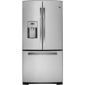 @teamahs GE, Profile 22.8 cu. ft. French Door Refrigerator in Stainless Steel, PFS23KSHSS at The Home Depot - Mobile