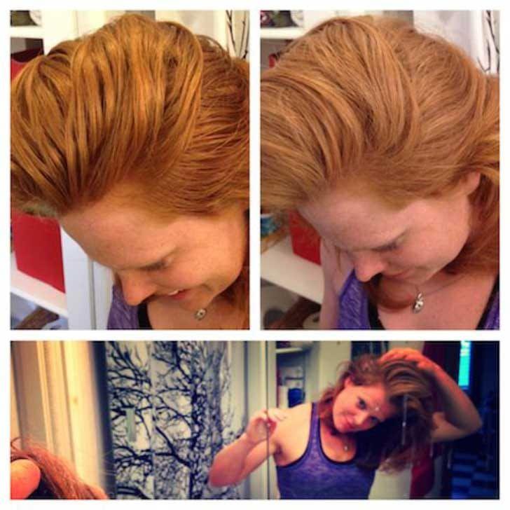 """Best of Web Mulher deixa de usar xampu e opta por um """"produto"""" inusitado. Isso é o que aconteceu com seu cabelo"""