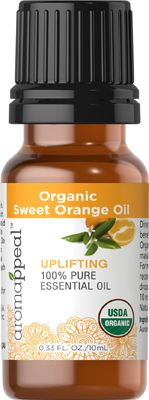 Organic Sweet Orange Oil 10 ML  $4.80