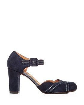 5c4a135923a Chie Mihara - Women s Kilo Suede Block-Heel Pumps