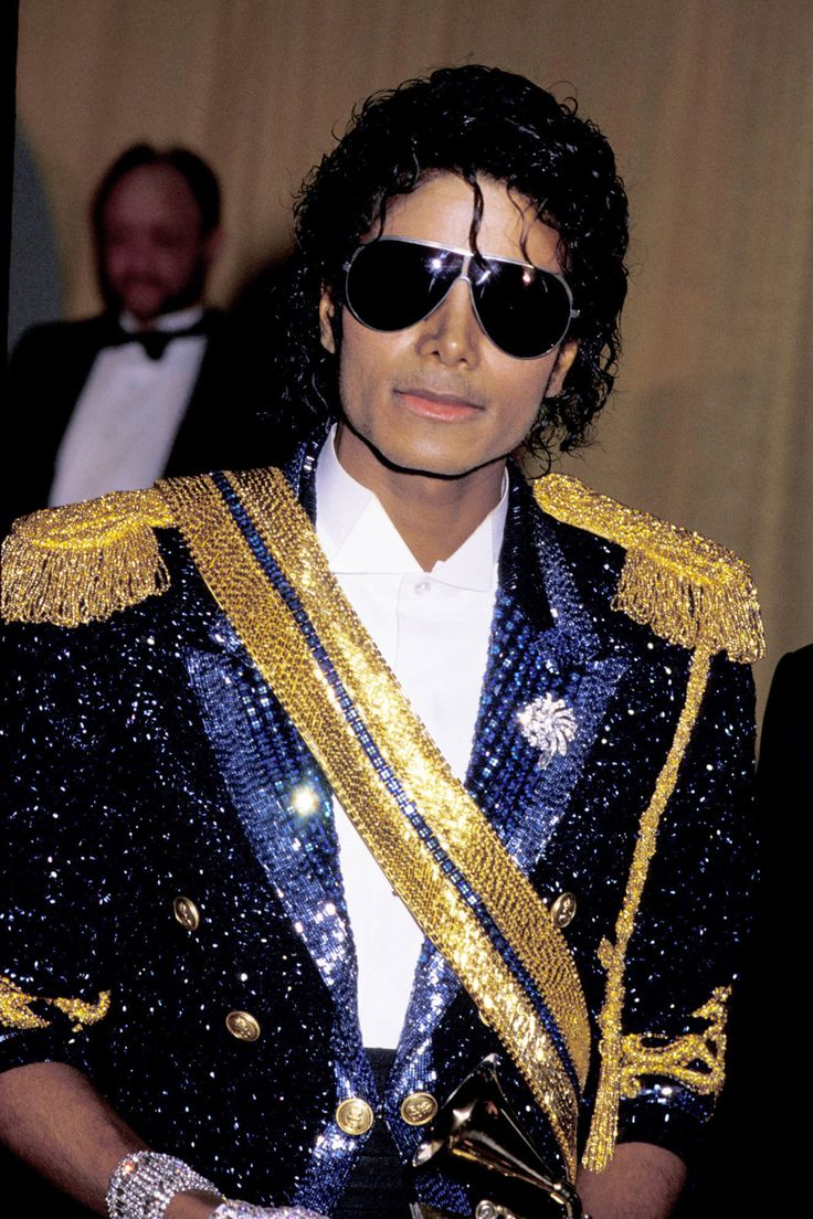 At the 26th Annual Grammy Awards in 1984.   - HarpersBAZAAR.com