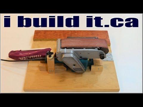 A Must Have Belt Sander Jig - http://www.gottagodoityourself.com/a-must-have-belt-sander-jig/