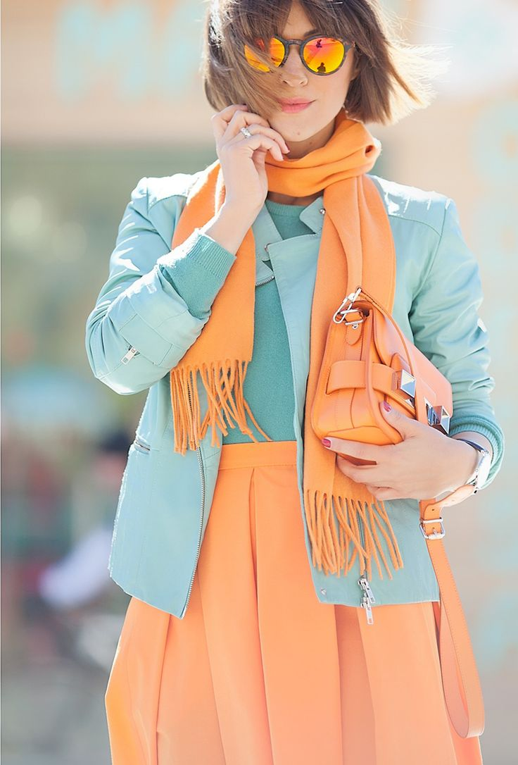 orange for everyday on GalantGirl.com