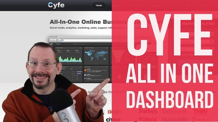 Cyfe All in One Business Dashboard