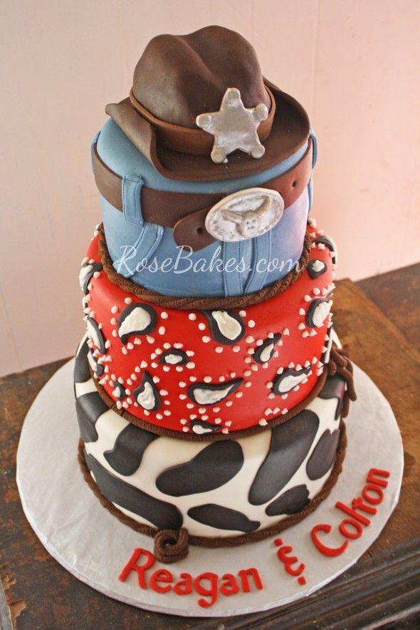 Rodeo Cake Topper Kit